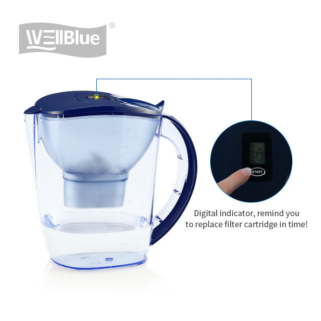 Hydrogen Rich Portable Alkaline Water Pitcher With Activated Carbon Filter